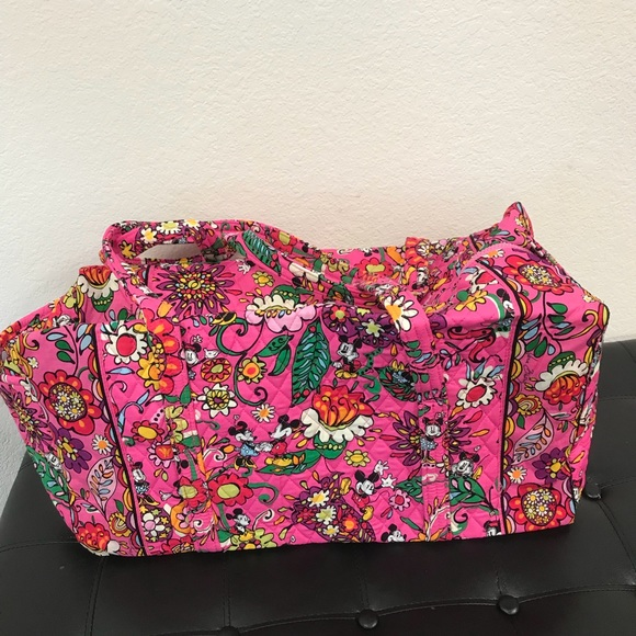 Vera Bradley Bags   Large Duffel In Just Mousing Around   Poshmark 0616c6b0f7
